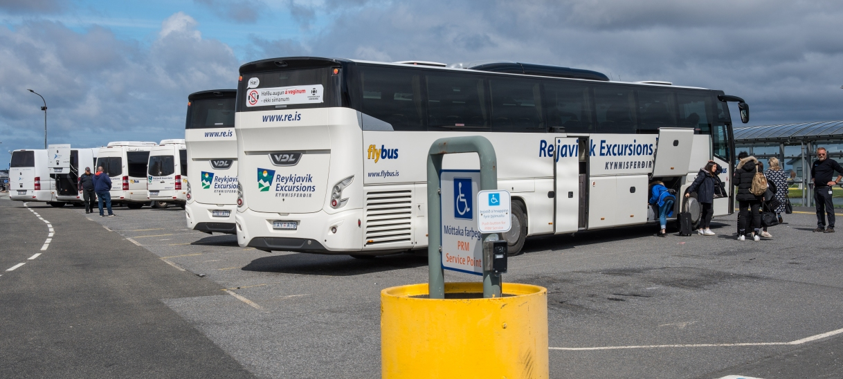 Shuttle Bus to and from Iceland International airport (Keflavik) to Reykjavikdowntown